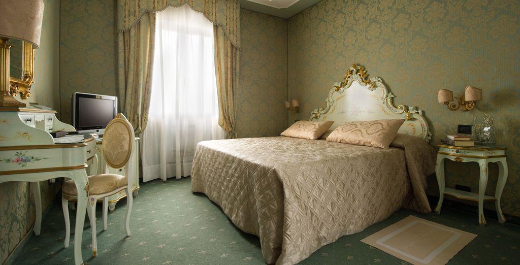 Descansa en una fantástica habitación Superior