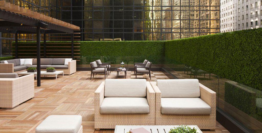 Comenzarás tu estancia en Grand Hyatt New York 4*