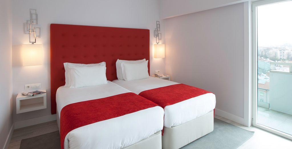 Todas la habitaciones cuentan con una decoración original