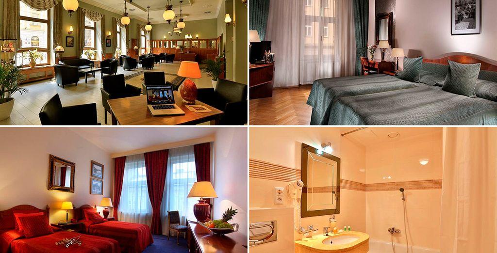 El Ariston & Ariston Patio Hotel 4* es una de las opciones de alojamiento en Praga