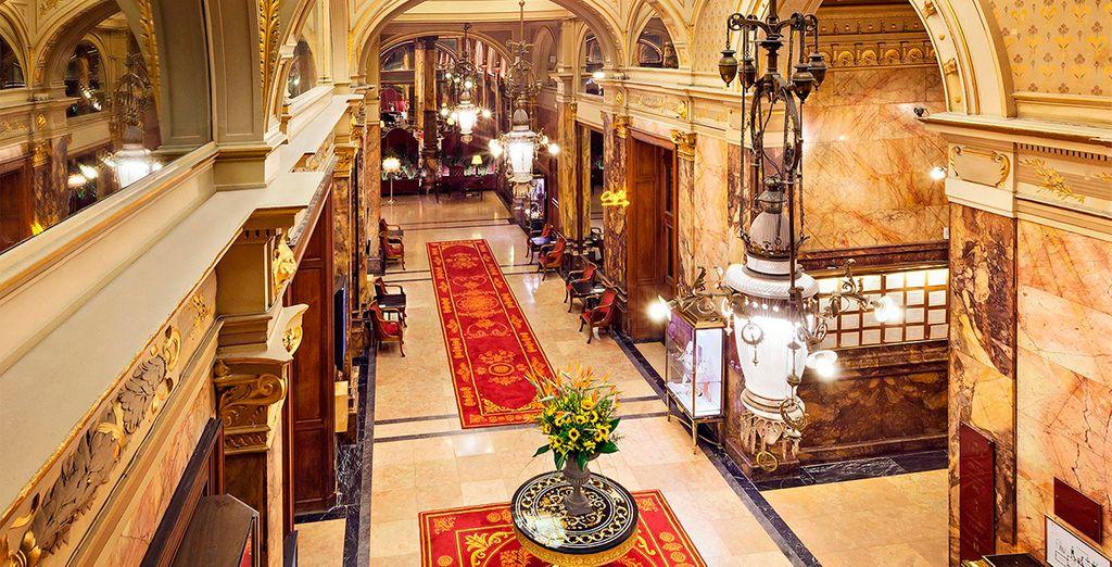 Bienvenido al Hotel Metropole 5*