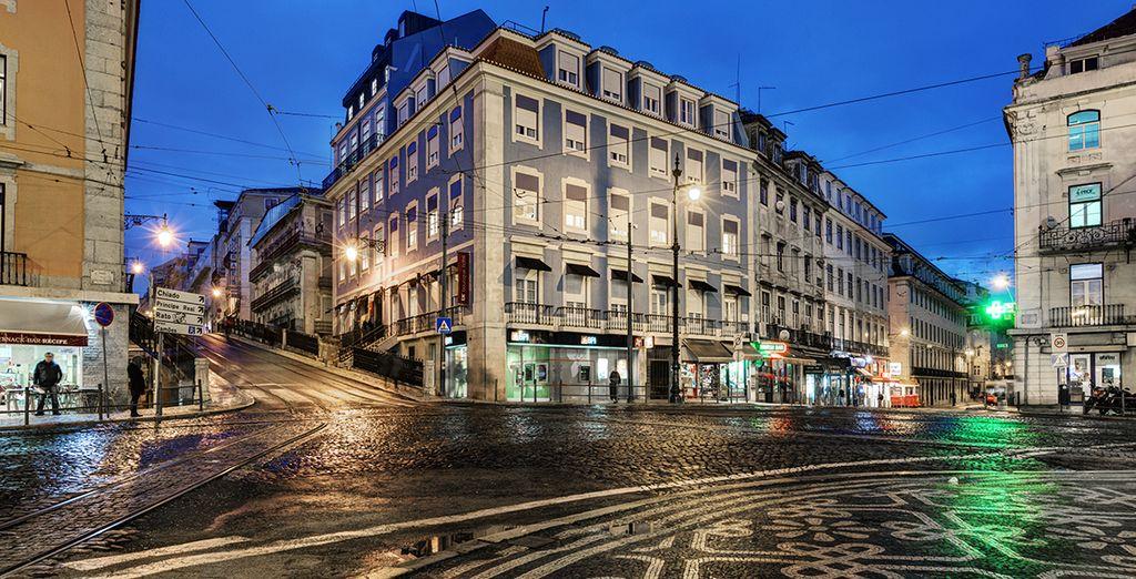 Un hotel boutique ubicado en el corazón de Lisboa, en un entorno risueño