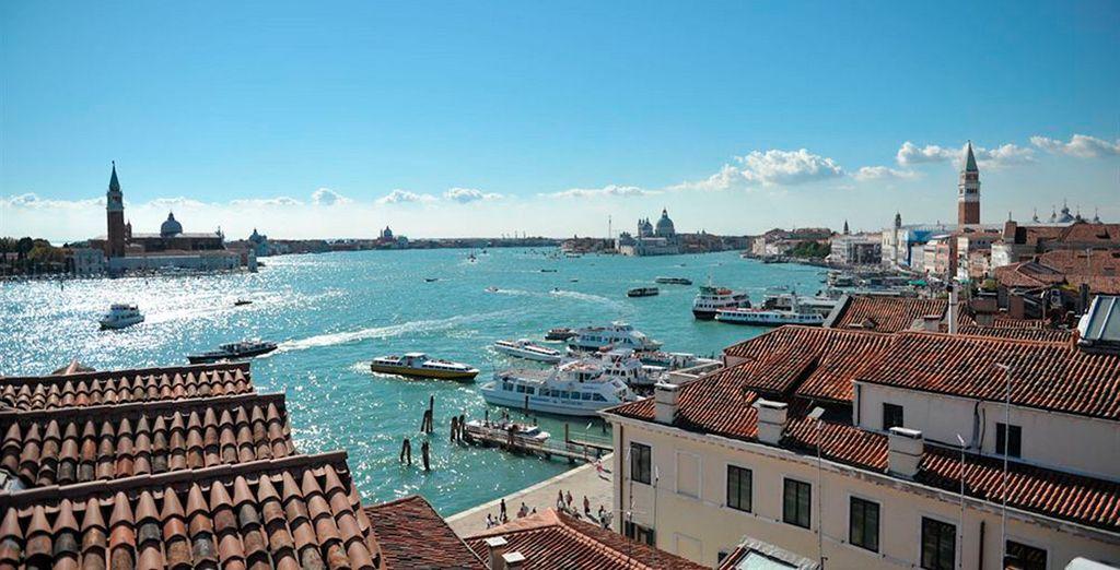 El hotel Gabrielli 4* te da la bienvenida a Venecia