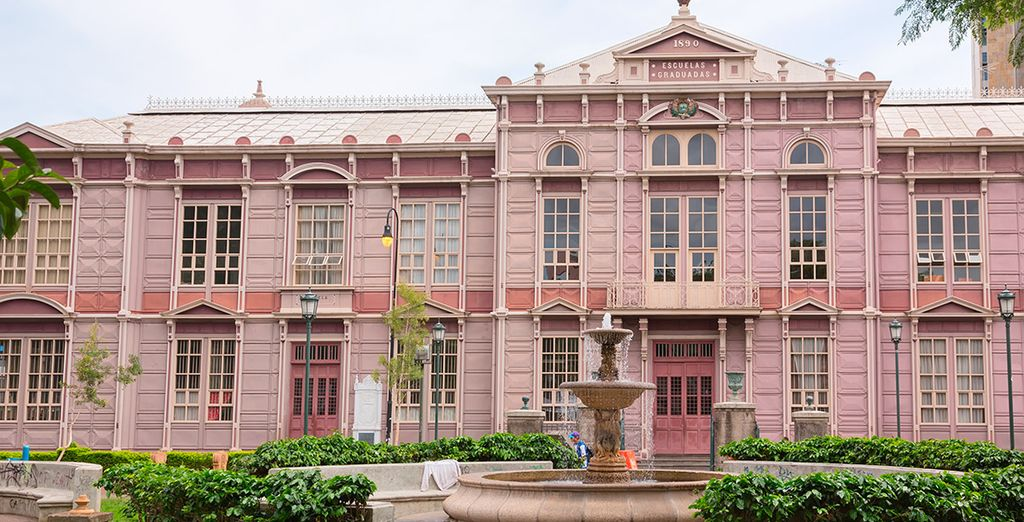 Bienvenido a San José, la capital costarricense