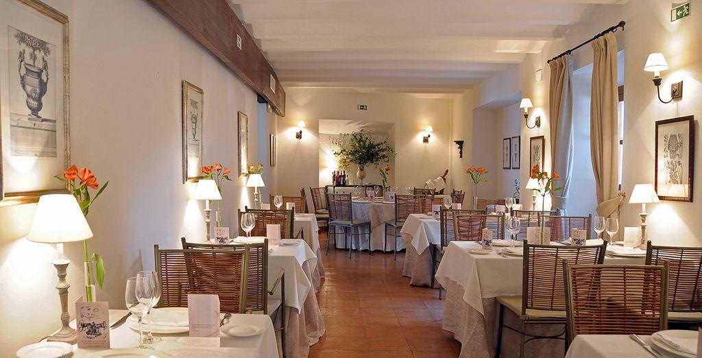 Podrás degustar la mejor gastronomía mediterránea...