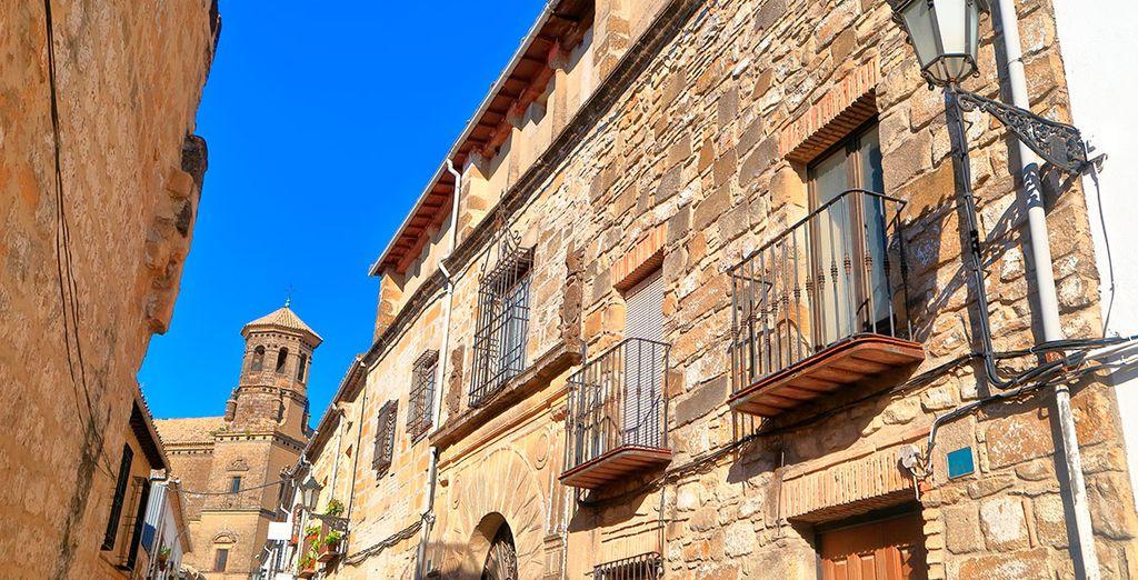 Baeza y Úbeda constituyen el mejor ejemplo del renacimiento andaluz