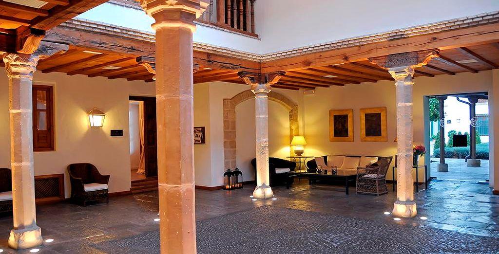 Una antigua casa de palacio del siglo XVI
