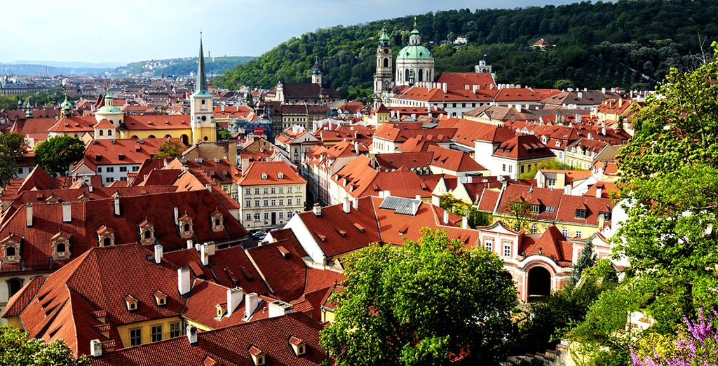 Praga cuenta con una gran riqueza monumental e histórica