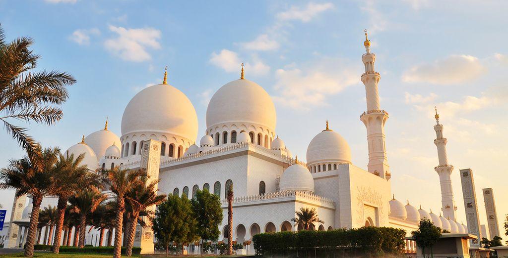 Descubre la mágica Abu Dhabi, capital de Emiratos Árabes