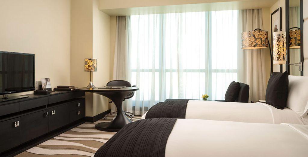 Descansarás en una habitación Luxury