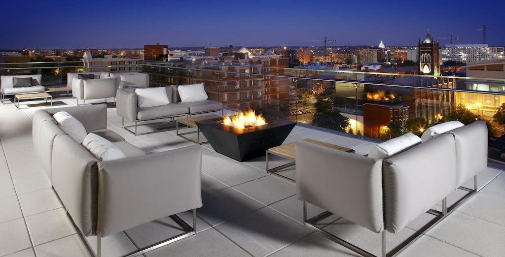 Te alojarás en el Cambria Hotel & Suites Washington, D.C. Convention Center