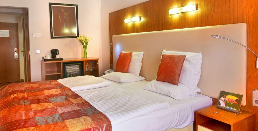 El Ametyst Hotel Praha 4* también será una opción