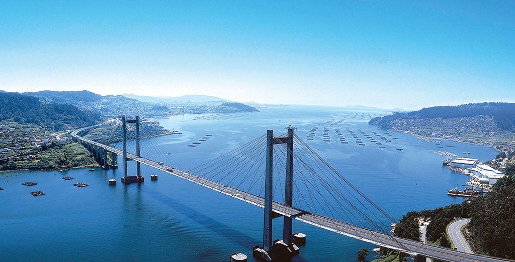 No es posible sentir Vigo por completo sin cruzar el Puente de Rande