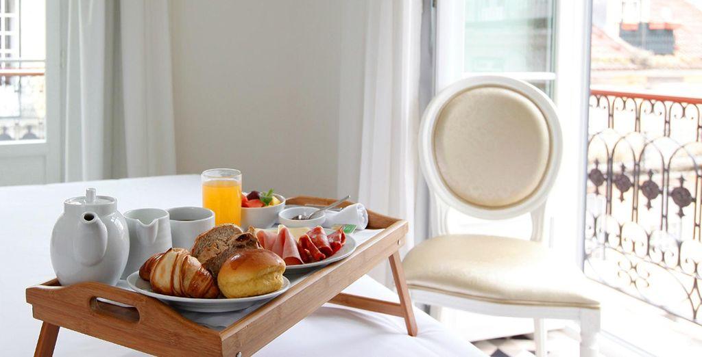 Despierta cada mañana con tu desayuno diario incluido