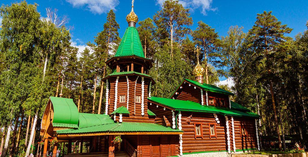 Visitaréis el monasterio-tumba del zar Nicolás II y su familia