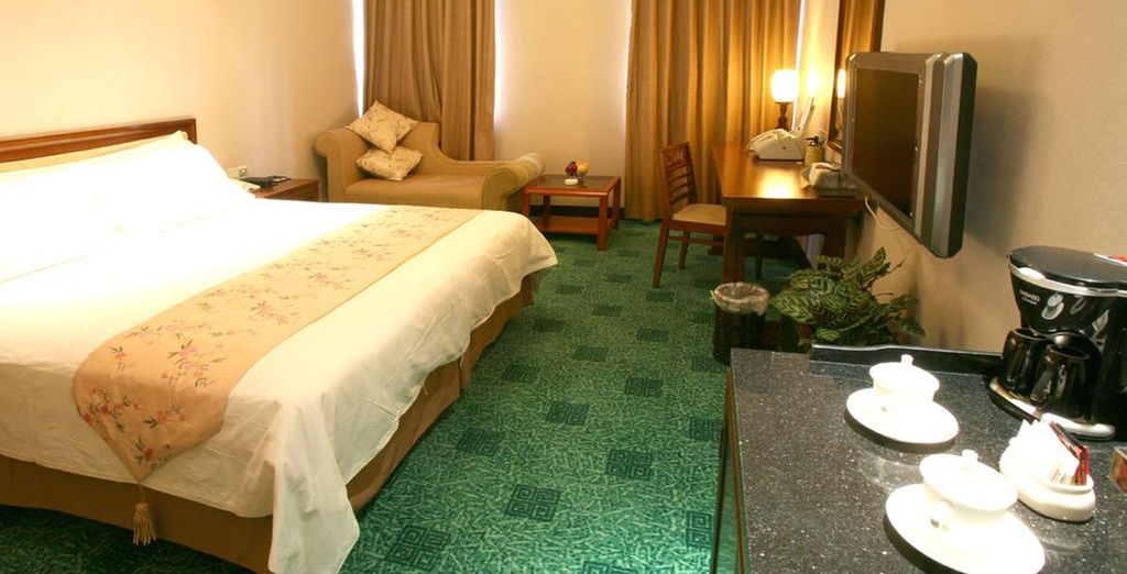 Jade Garden Hotel 4*, Pekín