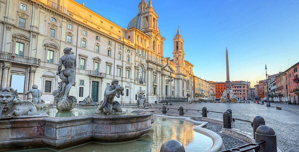 Roma, una ciudad con una belleza sobrecogedora