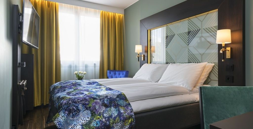 En Bergen te alojarás en el Thon Hotel Bergen Brygge 4*