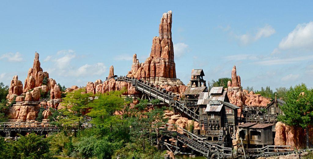 Atraciones a Disneyland París