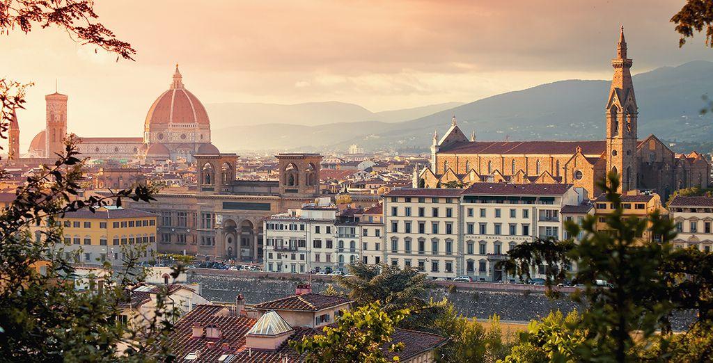 Tradicional hospitalidad florentina en el moderno UNA Hotel Vittoria 4*
