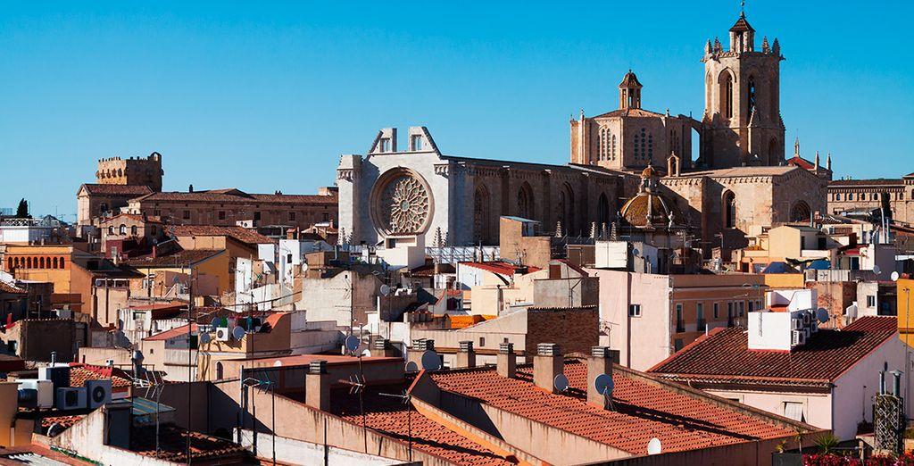 Déjate fascinar por la vecina Tarragona...