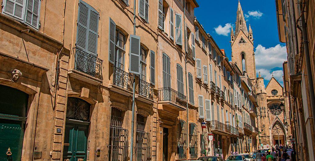 Aix-en-Provence está llena de encanto