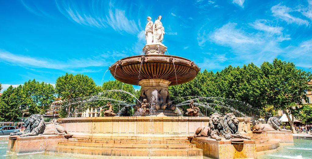 Aix-en-Provence, una ciudad relajada y tranquila