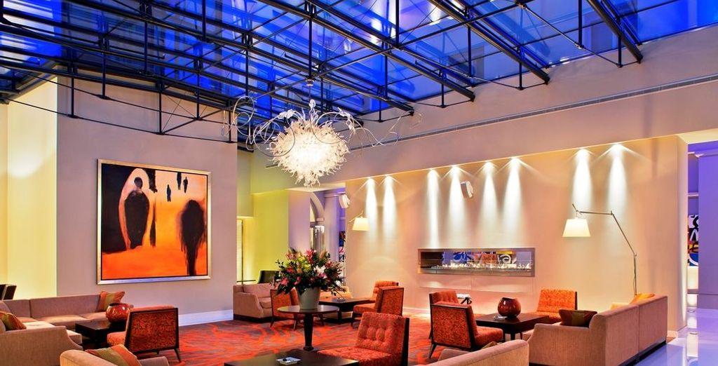 En el interior, una mezcla de decoración clásica y moderna
