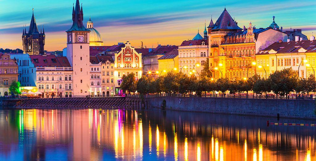¡Bienvenido a la capital checa!