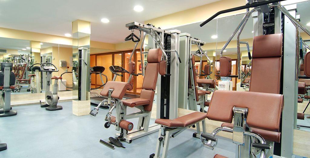 Tendrás gimnasio para mantener la forma física