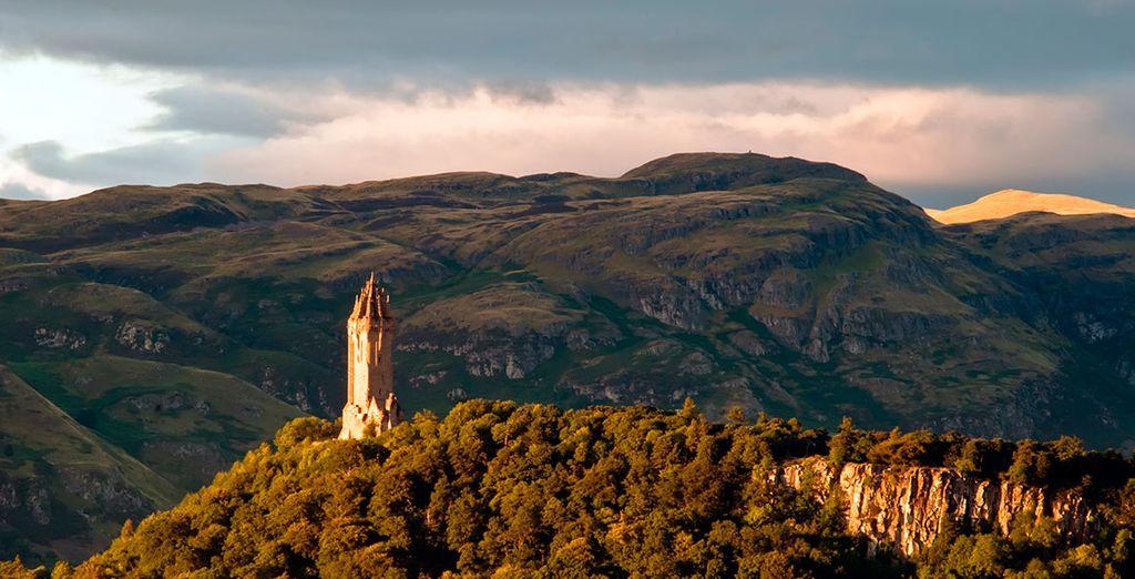 A continuación visitaréis el monumento Wallace