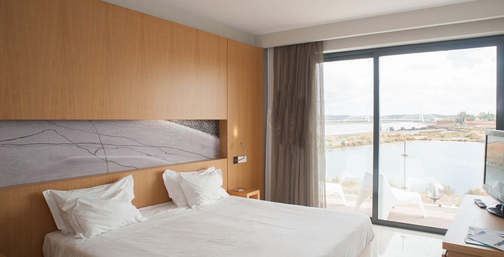 Y un amplio dormitorio