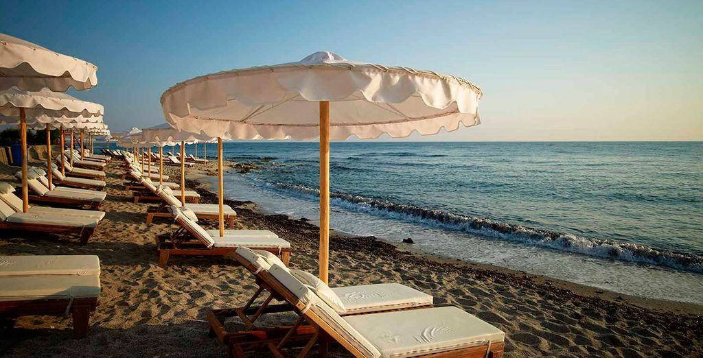 Disfruta del descanso a orillas del mar Egeo