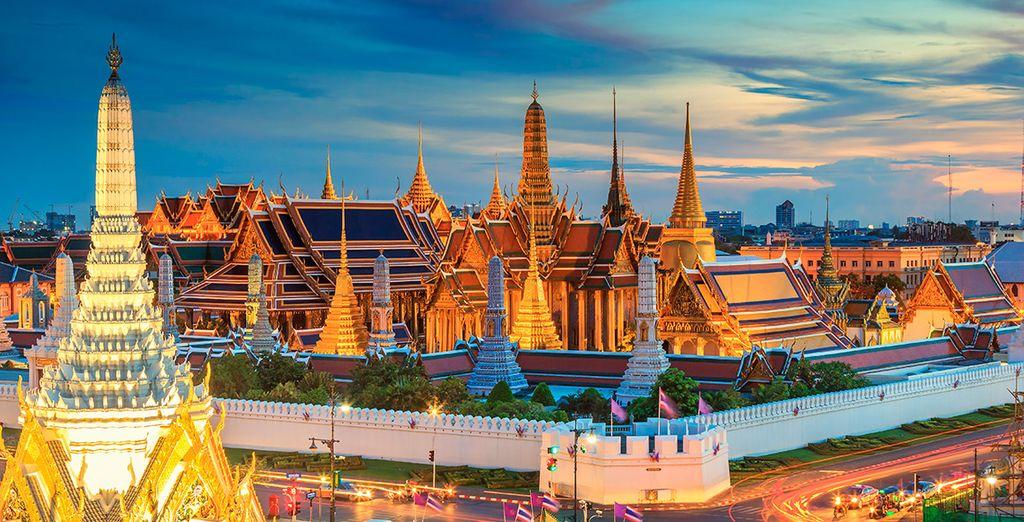 Bienvenido a Bangkok, inicio de una experiencia espectacular