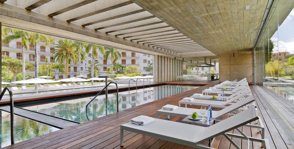 Descansa en el Spa de Iberostar Grand Hotel Mencey 5*, gracias al acceso que te hemos incluido