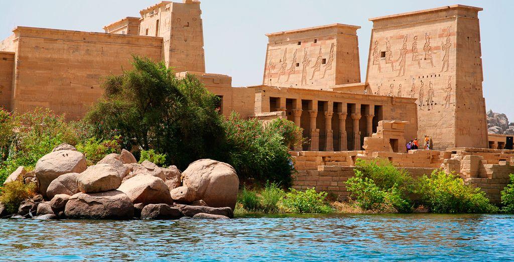 Saca tu cámara de fotos de Aswan