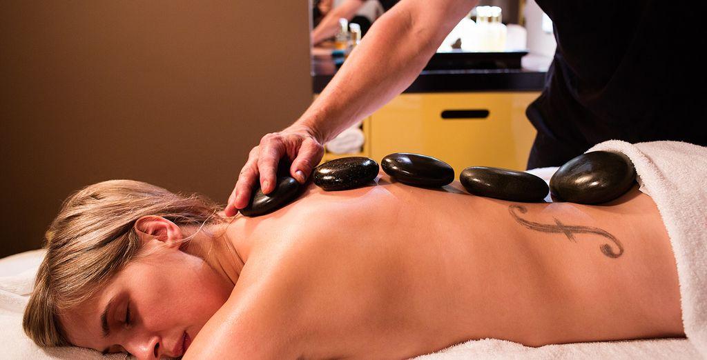Regálate un momento para un masaje, gracias al crédito que te incluimos