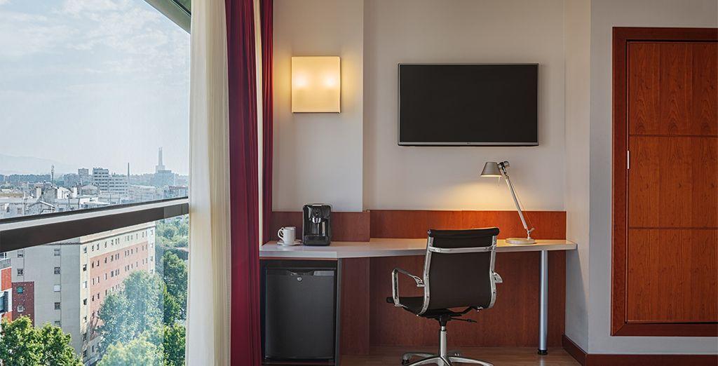 Dispondrás de una mejora a habitación Executive (más amplia que la Preferred) por un suplemento