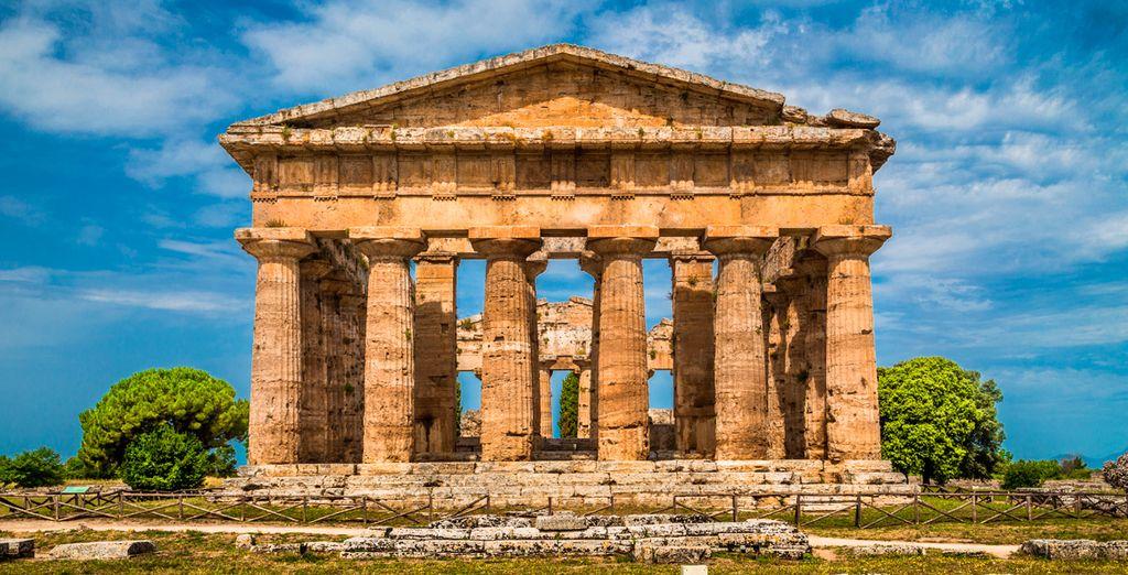 Descubre Paestum y sus ruinas romanas