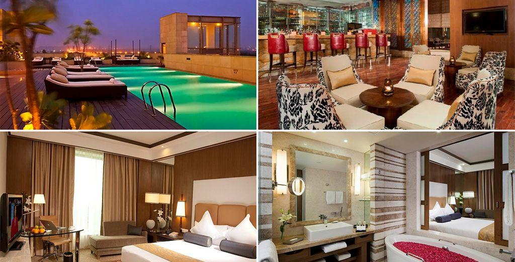 Tu último hotel será Crowne Plaza New Delhi Okhla 5* o similar