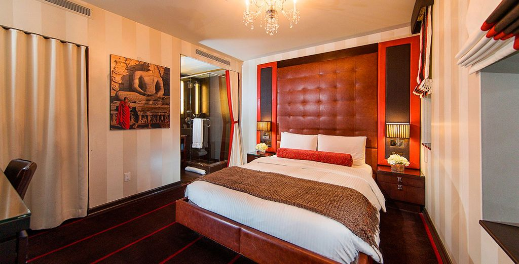 Te presentamos tu habitación Superior con cama Queen