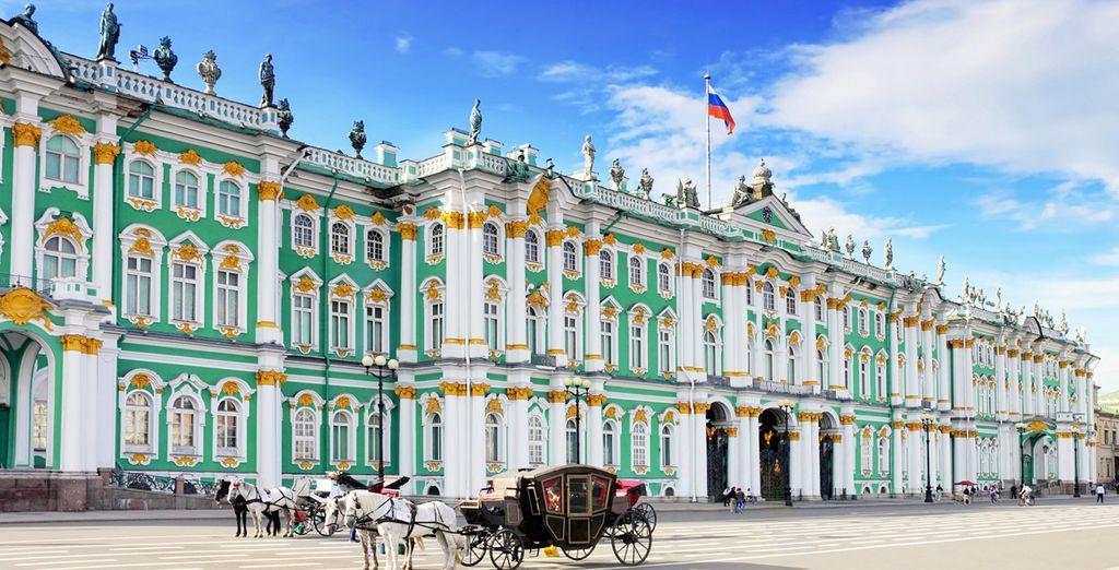 Un viaje espectacular a las dos capitales históricas de Rusia
