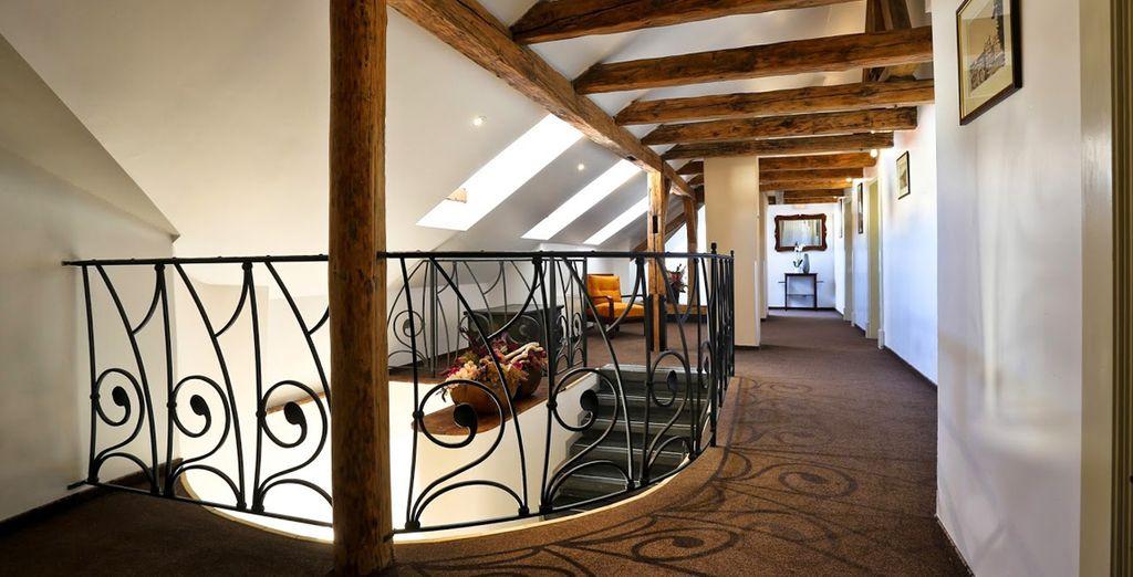 El Hotel Leonardo Praha se caracteriza por una arquitectura clásica pero sin renunciar a las comodidades de un hotel moderno