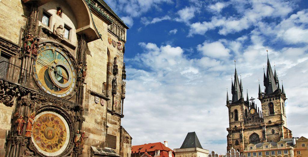 Vuelo más hotel a Praga