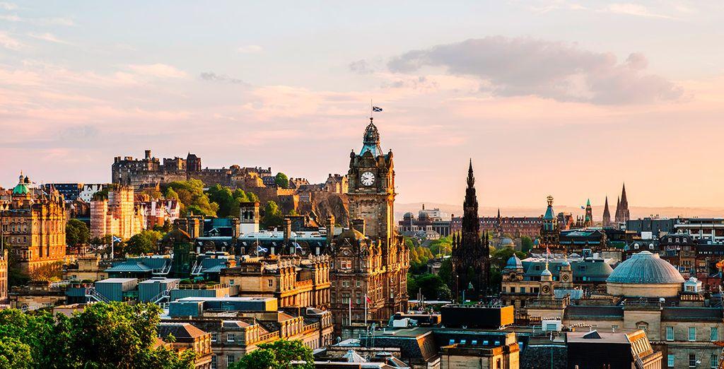 Ofertas de vuelo más hotel en Edimburgo, viajes y vacaciones con Voyage Privé