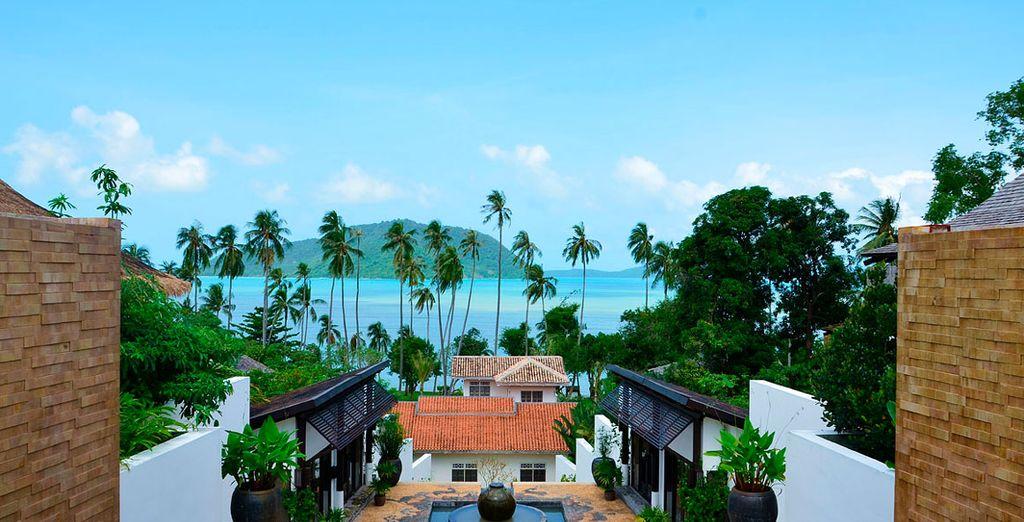 ...un 5* acogedor, lujoso y con unas vistas frente al mar que te enamorarán