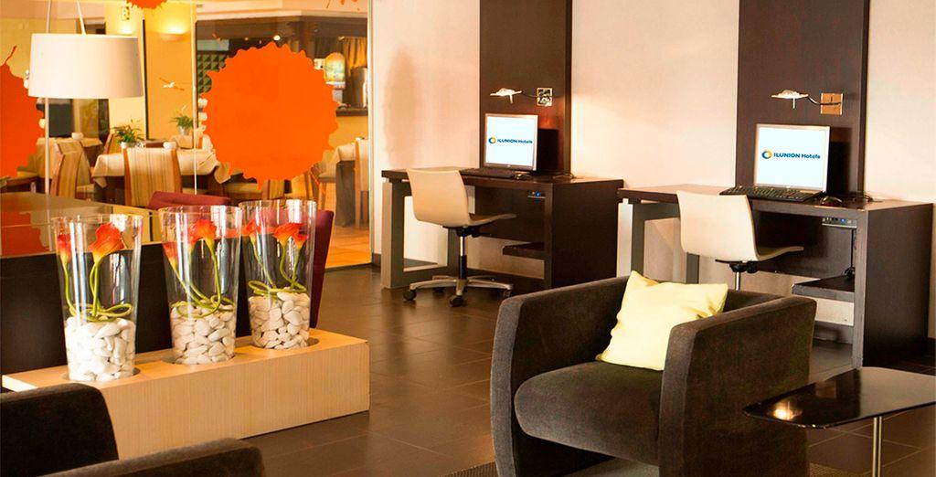 Instalaciones modernas para una estancia perfecta