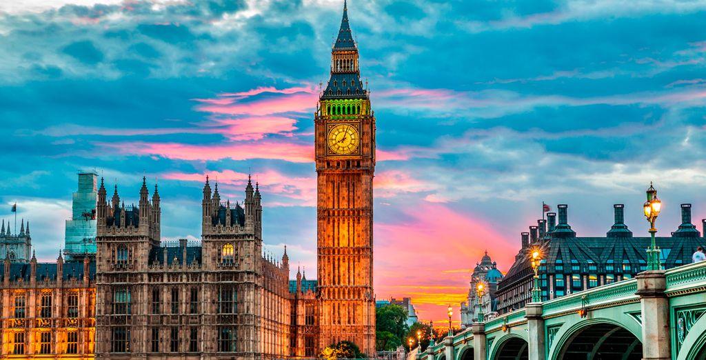 No olvide visitar el mítico Big Ben