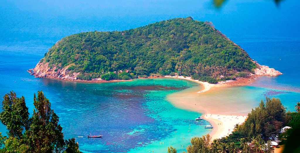 Saldrá hacia Koh Phangan, en ferry