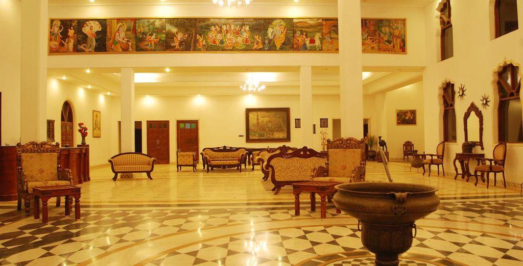 Sara Vilas Hotel 4*, Mandawa
